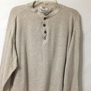 Men's Levi's Thermal Henley Long Sleeve Shirt